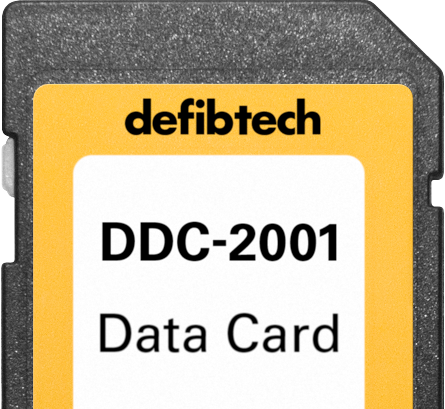 Data Cards for AED Event Storage